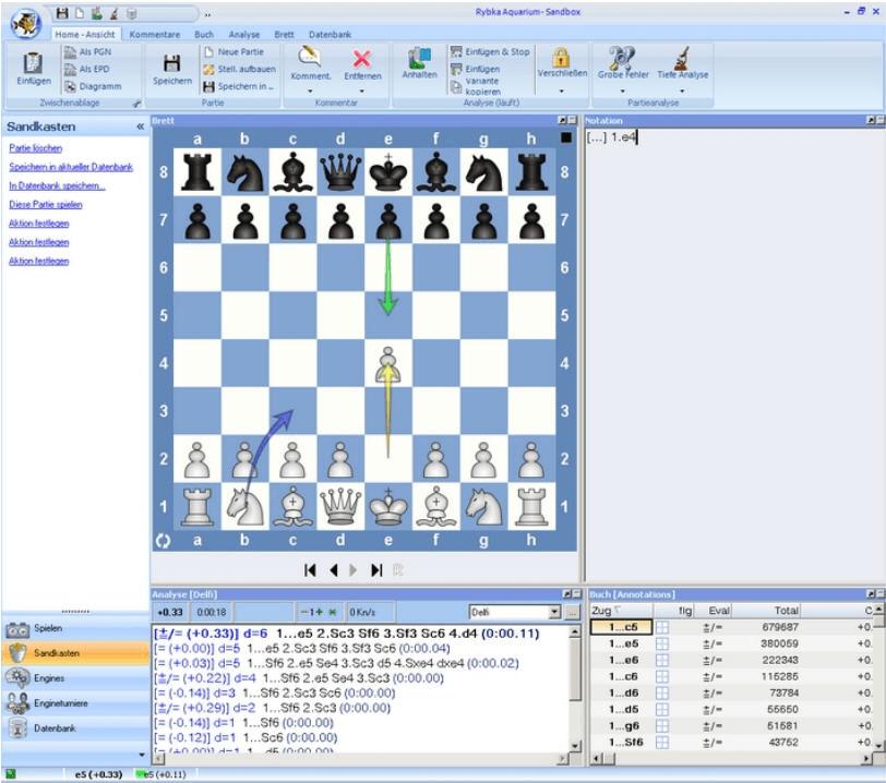 Программа рыбка шахматы скачать
