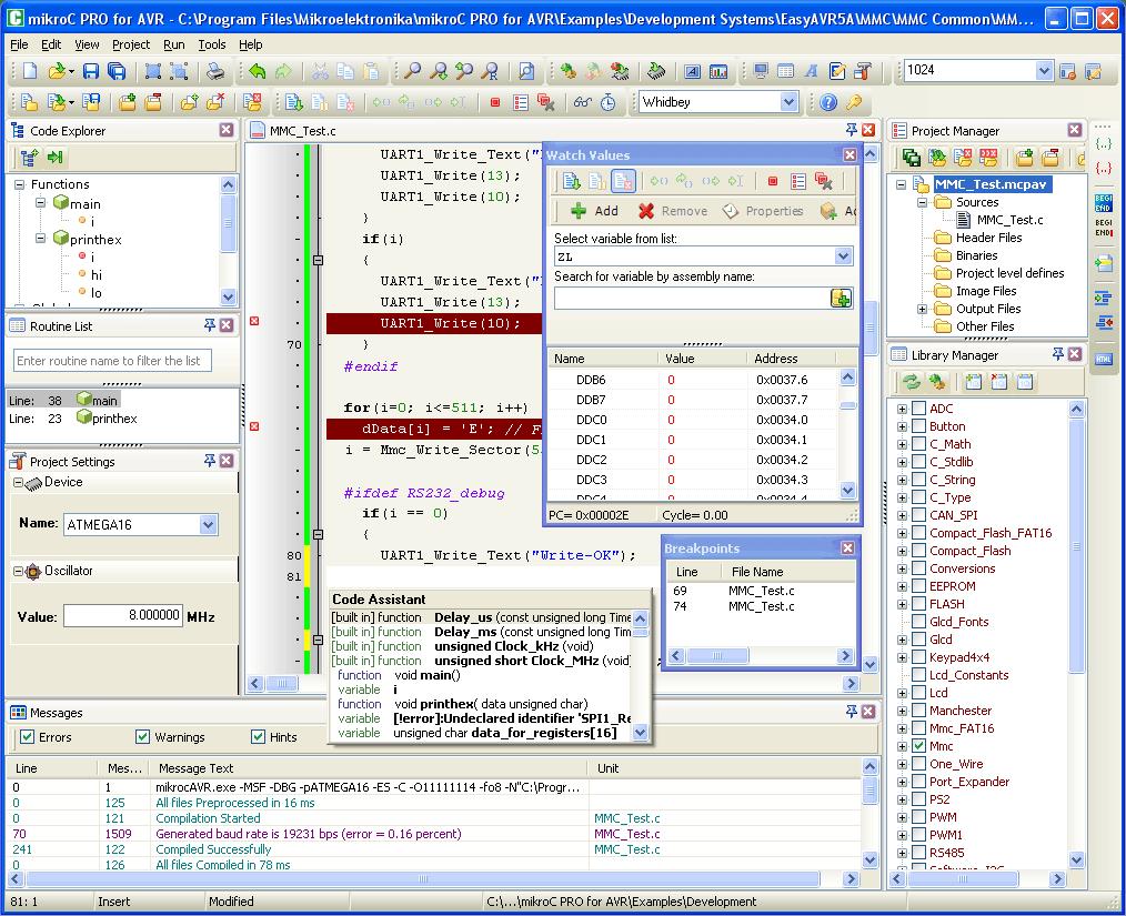 MIKROC PRO PIC GRATUIT 5.3 FOR TÉLÉCHARGER