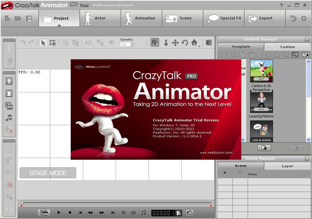 CrazyTalk Animator Crack 4 With Patch