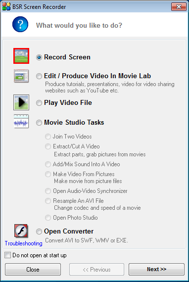 BSR Screen Recorder 5.2.7 Multilingual + Serial.