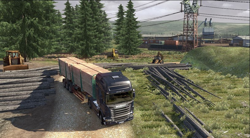 Cкачать бесплатно Scania: Truck Driving Simulator (2012 RUS/ENG) PC без рег
