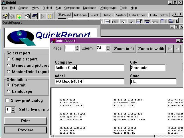 Cara menginstal komponen quick report di delphi 7