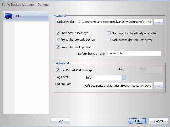 Luckybackup - графическое приложение для резервного копирования на основе rsync