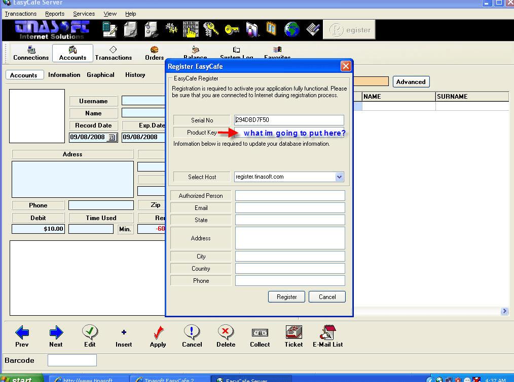 easycafe 2.2.14 avec crack gratuit