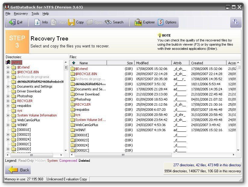 Get Data Back Data Recovery Email Recovery and File Repair Software