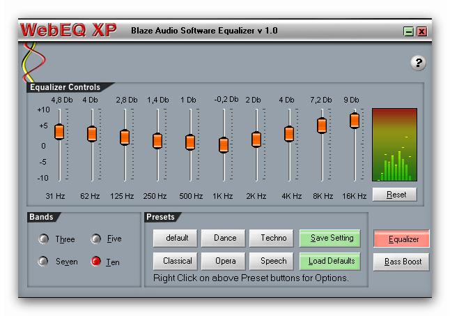 скачать эквалайзер для Windows Xp - фото 4
