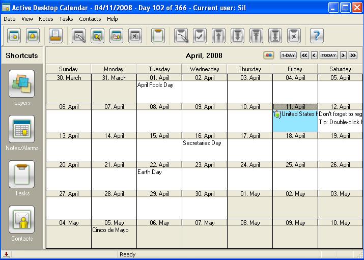 "Desktop Calendar Windows 8 : Search results for ""windows active desktop calendar"